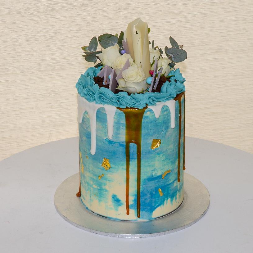 Classic Drip Cake