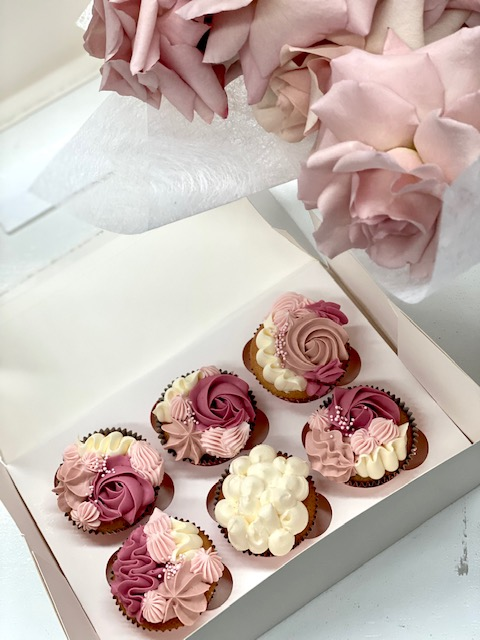 Small Flower + Cupcake Bundle